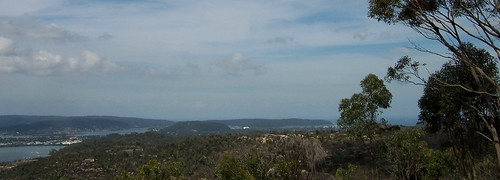 Woy Woy, Blackwall Mountain, Bouddi Peninsula & Box Head from Staples Lookout