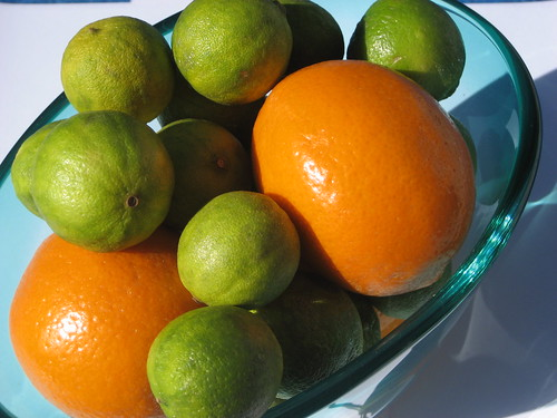 Key Limes and Meyer Lemons