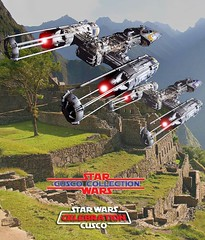 Peru celebrates StarWars 30 - MachuPicchu, one of the Wonders of the Worlds celebrate it too!