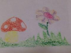 seta y flor