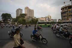 Ho Chi Minh City traffic (Aki Hnninen) Tags: vietnam rushhour hochiminhcity sigma1020mmf4056