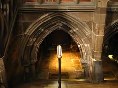Down to the Light (Atul Sabnis) Tags: light scotland flickr atul glasgow united steps kingdom staircase sabnis