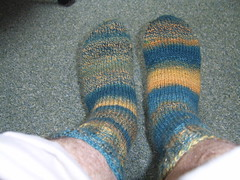 DSM's spindle spun socks