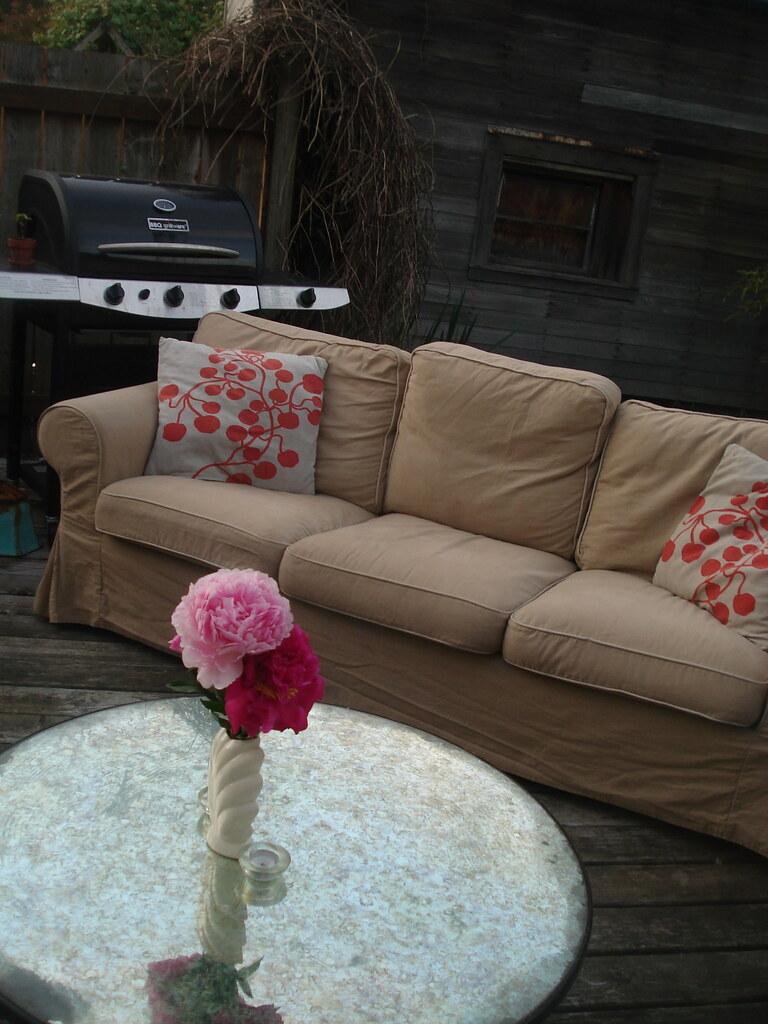 A Sofa in the Backyard?
