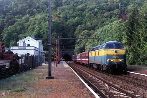 NMBS 5515 te Esneux op 17-5-2001 (SCAN)
