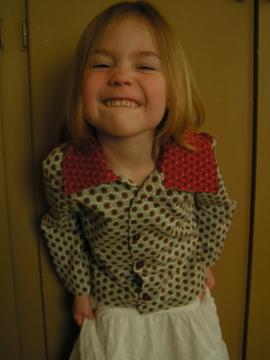 Sassy Sophie displays collar