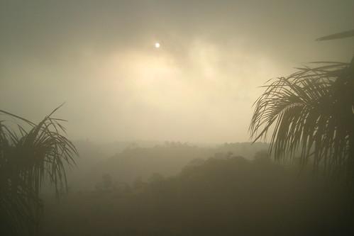 Khandala - fog on the sun rise by Swami Stream