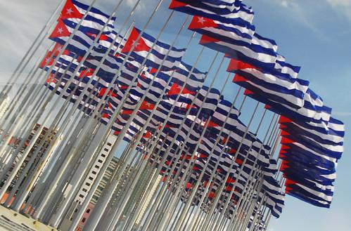 Cuba flags Havana