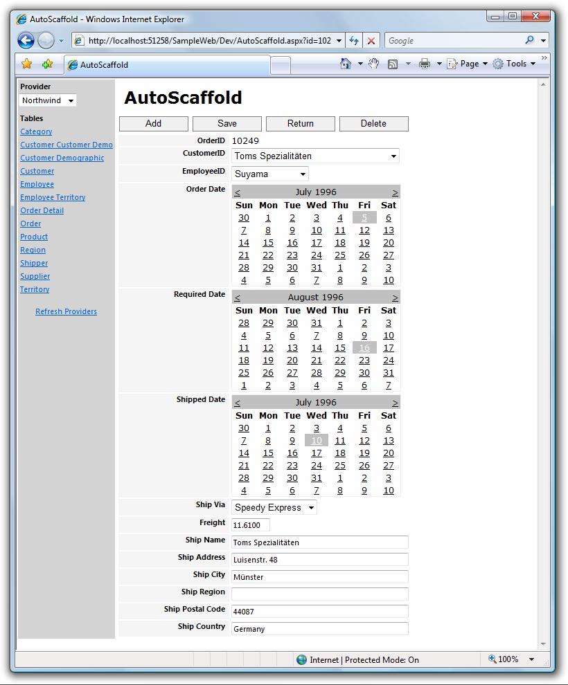 AutoScaffold