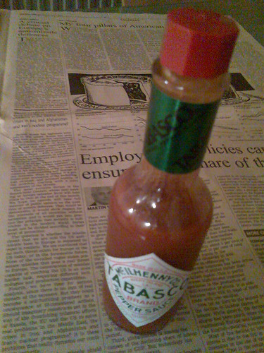 Tabasco and Financial Times