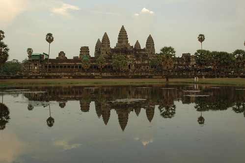 Angkor Wat, reflected