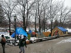 Tent City Snow