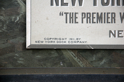 Copyright 1911, by New York Dock Company