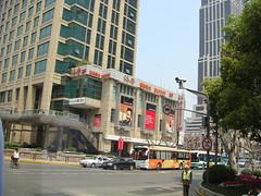 巴士內看淮南路.2 (carmencheung) Tags: no always says 上海之旅