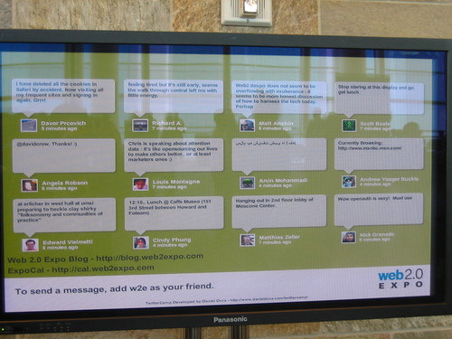 Twitter Screens at your live event