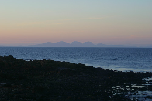 The Paps of Jura, from Machrihanish.