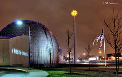 Basketball Hall of Fame - Springfield, Massachusetts by Phillip Chitwood