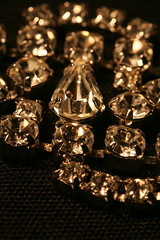 Bling like this may await you at Goodwill this weekend. Photo by Rhonda Johnson -- thanks!