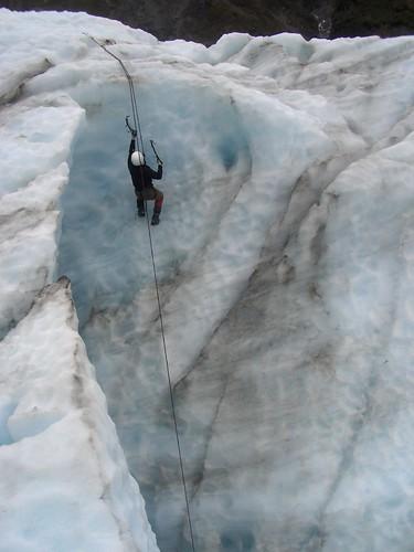Matt Ice Climbing