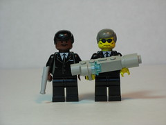 Men in Black (Dunechaser) Tags: lego movies minifig minifigs mib willsmith meninblack tommyleejones agentj agentk