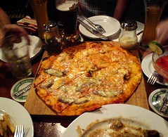 Pizza and Beer at Timbre