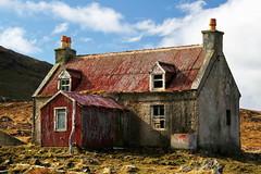 Eriskay Cottage (Martin Third) Tags: uk greatbritain scotland britishisles unitedkingdom britain cottage canoneos20d westernisles outerhebrides eriskay