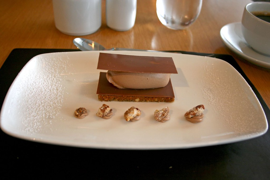 Hazelnut Dacquoise with Milk Chocolate Chantilly