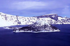 Wizard Island 1c (DY Pics) Tags: snow oregon craterlake wizardisland craterlakenationalpark craterlakeoregon