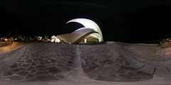 Auditorio de Lado (pano_philou) Tags: santa architecture de cruz calatrava tenerife auditorium equirectangular flexify