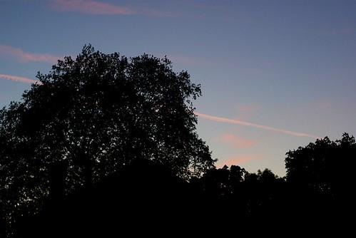 Uninspired sky scene