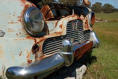 Ford Zephyr Chrome Grill (robsouthoz) Tags: ford car  rob zephyr wreck