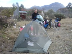 Camping on the way to Guanajuato