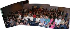 Jam-Packed (anikarenina) Tags: audience crowd sanjose full chi photomerge overflow overfull chi2007