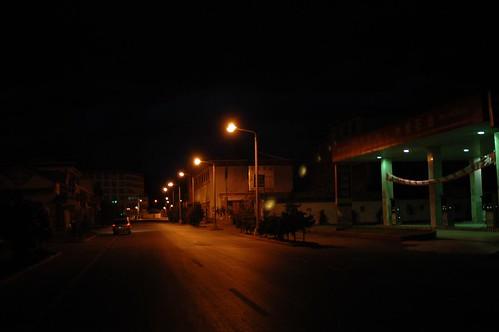 香格里拉县城的凌晨