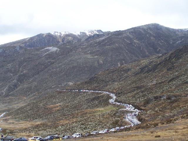 El Pico Bolivar y su cola