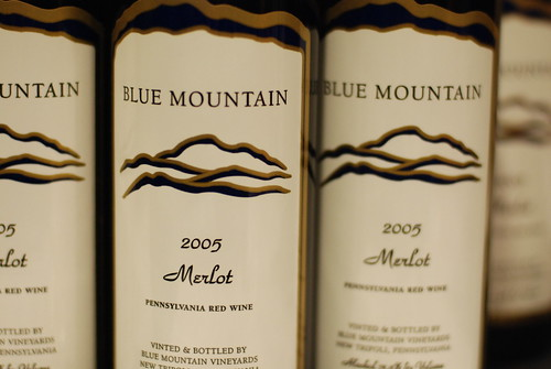 Blue Mountain Merlot 2005