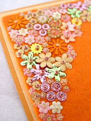 More pretties... (a little bit of just because) Tags: felt handsewn sequins