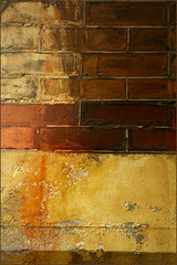 (Leenda K) Tags: abstract brick wall likeapainting blueribbonwinner leendak
