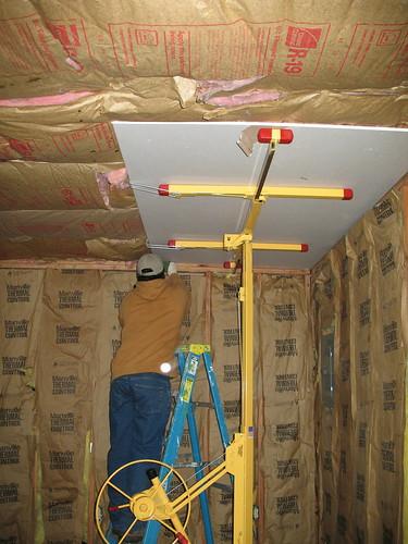 First Drywall Board