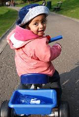 Daniela in the Park
