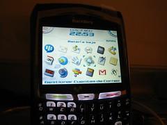 Una BlackBerry