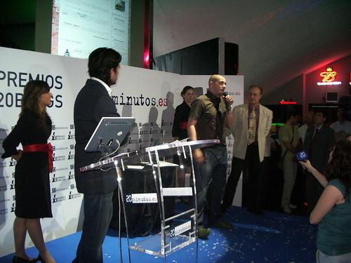 Ganador de los Premios 20 Blogs