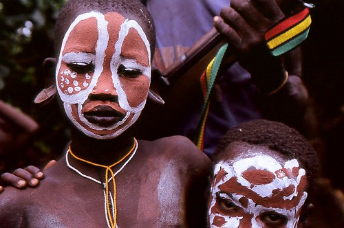 AFRICA - The Surma people