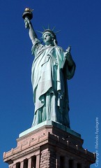 The Magnificent Statue of Liberty (Scandblue) Tags: newyorkcity sculpture usa america liberty unitedstates landmark icon torch immigrants statueofliberty magnificent libertyisland ladyliberty newyorkharbor emmalazarus givemeyourtiredyourpoor motherofexiles thenewcolossus mightywoman worldwidewelcome