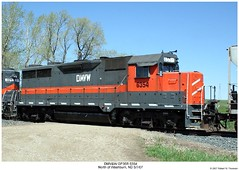 DMV&W GP35R 6354 (Robert W. Thomson) Tags: railroad train diesel railway trains northdakota locomotive trainengine washburn emd gp35 dmvw dakotamissourivalleywestern gp35r