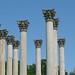 Capitol Columns at National Arboretum Closeup