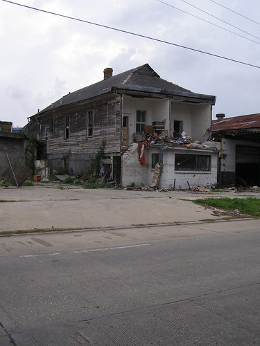 House across the street on Washington