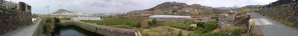 Arucas desde La Goleta, Cuesta de la Arena