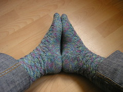Monkey socks side view