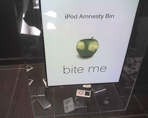 iPod Amnesty Bin